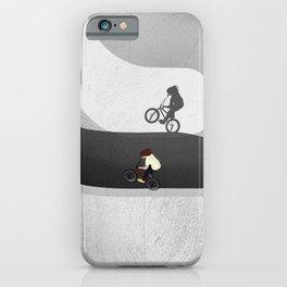 BMX | Skatepark From Above  iPhone Case