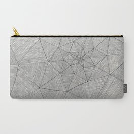 Web Pattern Carry-All Pouch