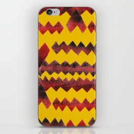 Ethnic diamond iPhone Skin