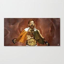 """""""Conor McGregor, (II)"""" Canvas Print"""