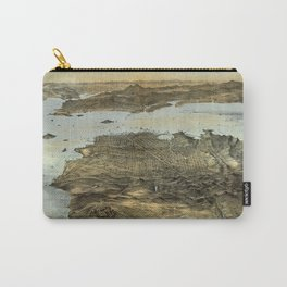 San Francisco - California - United States - 1868 Carry-All Pouch