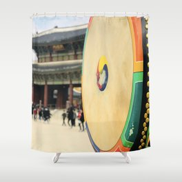 The royal drum Shower Curtain
