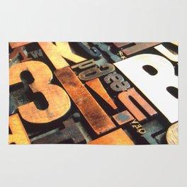 3B - Typography Photography™ Rug