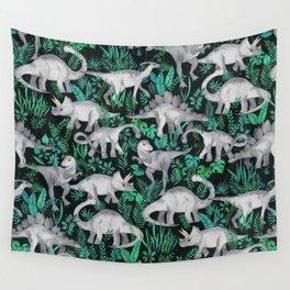 Dinosaur Jungle Wall Tapestry