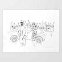 London Miller Art Print