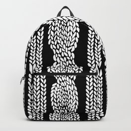 Cable Black Backpack