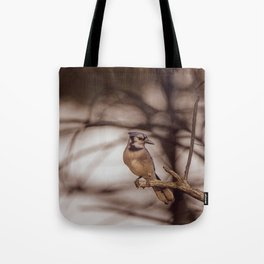 The Blue Jay Tote Bag
