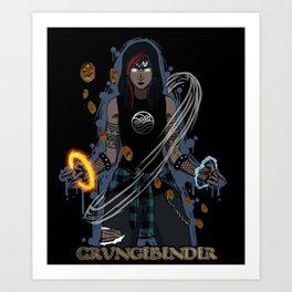 GrungeBender Art Print