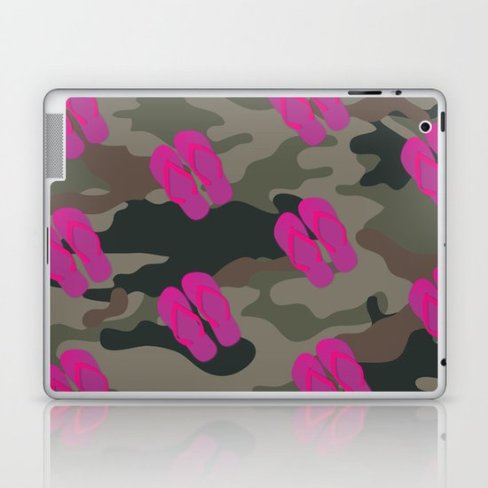 I saw Cady Heron wearing army pants and flip flops ... - quote from Mean Girls Laptop & iPad Skin