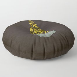 Pierce The Heavens With Your Drill Floor Pillow