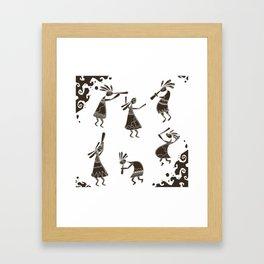 kokopelli Framed Art Print