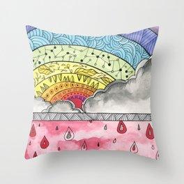 Pain Into Power Throw Pillow