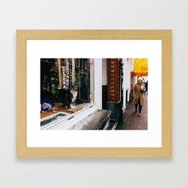 Centrum - Amsterdam, The Netherlands - #1 Framed Art Print