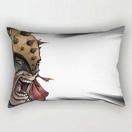 Battle Cry Rectangular Pillow