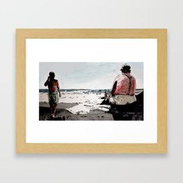 GOMERA Framed Art Print