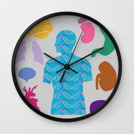 Human Body_A Wall Clock