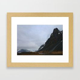 Land of Fire and Ice Framed Art Print