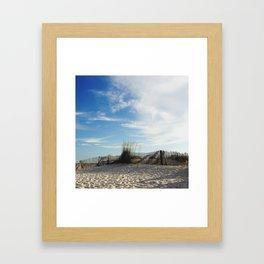 Waves of Sand Framed Art Print