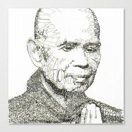 Thich Nhat Han Canvas Print