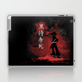 Black Samurai Red Death Laptop & iPad Skin