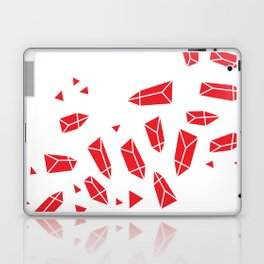 Red Crystals Laptop & iPad Skin