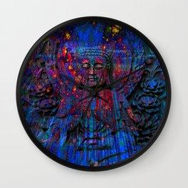 Buddha dream II Wall Clock