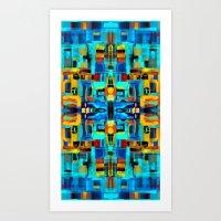 mosaic Art Prints featuring Mosaic by Tharika Fuhrer