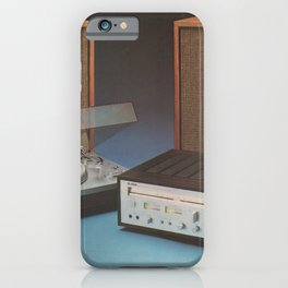 Vintage Speakers 1 iPhone Case