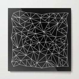 Geometric Jane 2 Metal Print