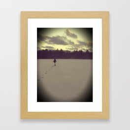 Cold Days Framed Art Print