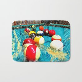 Modern billiards and pool art 3 Bath Mat