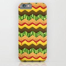 Cheeseburger Chevron iPhone 6 Slim Case