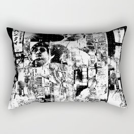 Nightlife 2 - Only the beast left Rectangular Pillow