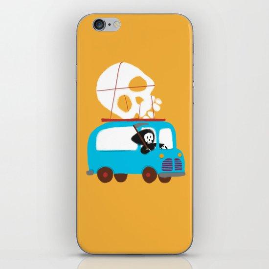 Death on wheels iPhone Skin
