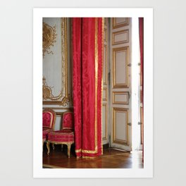Versailles - Behind The Curtain Art Print