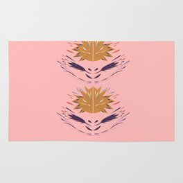 Design elements  Folk, polish  pink Rug
