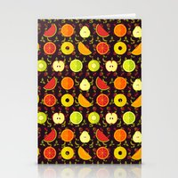 fruit Stationery Cards featuring FRUIT by badOdds