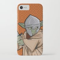 medieval iPhone & iPod Cases featuring Yoda medieval  by  Steve Wade ( Swade)