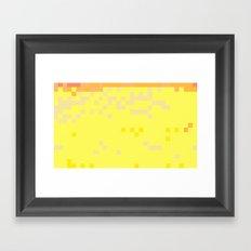 ABSTRACT PIXELS #0014 Framed Art Print