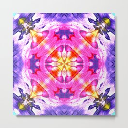 Modern Colorful Abstract Pattern SB87 Metal Print