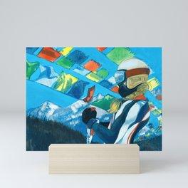 Lindsey Vonn Mini Art Print