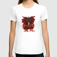 transparent T-shirts featuring Hoot Transparent by Megan Coyne