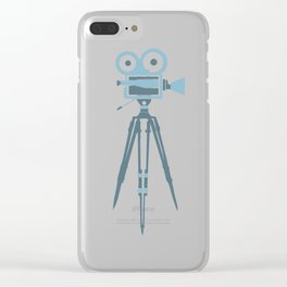 Retro Film Clear iPhone Case
