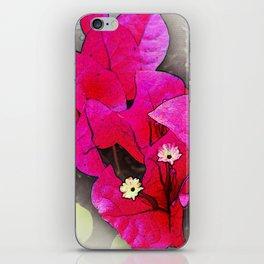 Bougainvillea Flowers iPhone Skin