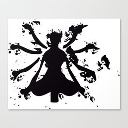 Experience tranquility Canvas Print