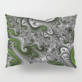 Fantasy World, abstract Fractal Art Pillow Sham