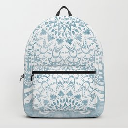 LIGHT BLUE MANDALA SAVANAH Backpack