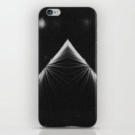 Piramide de la Luna iPhone Skin