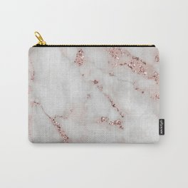 Marble and Glittering Gemstones (vii 2021) Carry-All Pouch