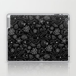 Cephalopods - Black and White Laptop & iPad Skin